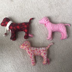 Victoria's Secret PINK Plush Dogs